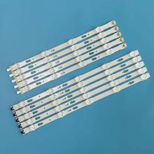 10 sztuk podświetlenie LED strip dla Samsung UE40KU6000 UE40KU6100 UE40MU6000 UE40MU6120 UE40JU6000 UE40JU6500 V5DU 400DCA 400DCB R1