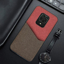 Canvas Magnetische Kaart Slot Telefoon Case Voor Xiaomi Redmi Note 9 S 9 Pro 8 8T 4X K20 Business cover Voor Mi 9T 9 Se Note 10 A3 9Lite(China)
