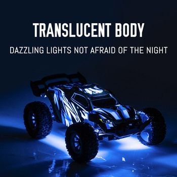 20KM/h Remote Control Car LED Headlights 2.4GHz High Speed Car Shift Throttle Vehicle Educational Remote Control Toys