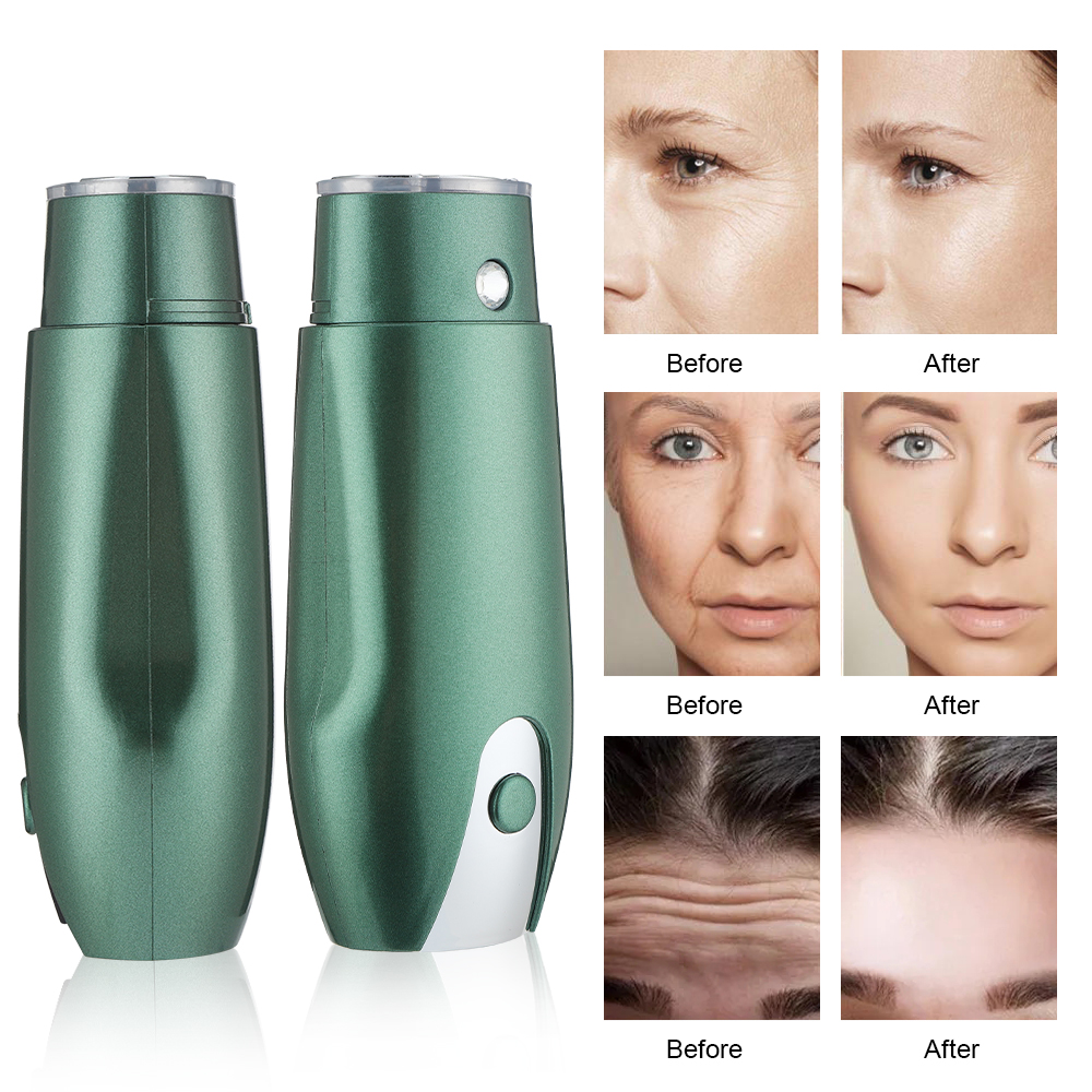 Mini ultrasonic cleaning Beauty Device Facial Cleansing Massager Face Skin cavitation machine Care Hifu Anti Wrinkle Tightening