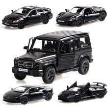 1:36 Scale Diecast Car Model Metal SUV Alloy Pull Back Car Decoration High Simulation Vehicle Toys For Children Christmas Gift new year gift p c 1 18 big metal model suv vehicle alloy jeep collection car diecast present simulation scale model toys cars