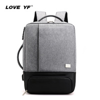 Men's backpack smart backpack multi function anti theft 15 inch laptop Backpack School Backpack business travel mochilas