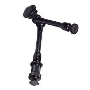 """Image 1 - Hot 3C 11"""" Magic Arm Articulating Friction Arm with Hot Shoe Mounts for DSLR Camera Rig, LCD Monitor, DV Monitor, LED Lights, Fl"""