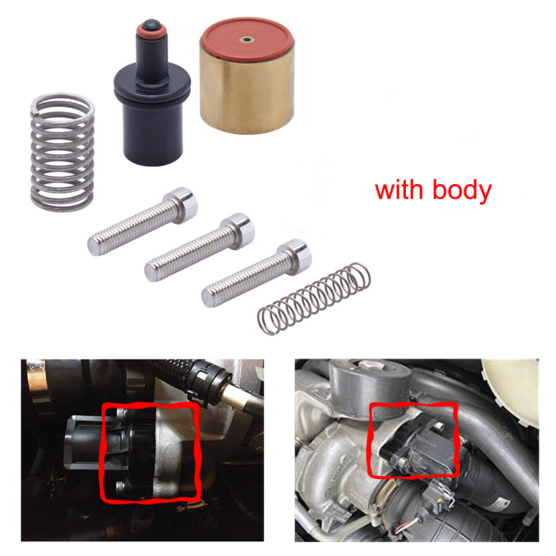 BOV-T9352,T9351,T9355, t9356 universal aluminium teil DV Umsteller Ventil anzug für BMW für ford für VW für audi