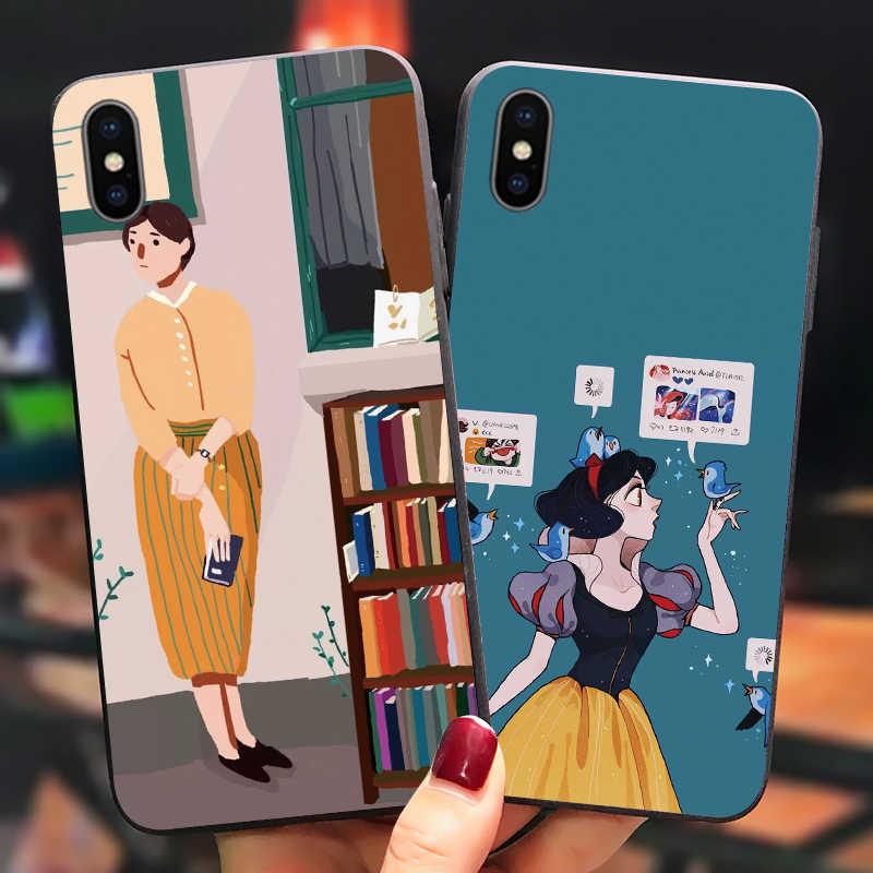 王子アートキャパ Huawei 社 1080p スマート P8 P9 P10 2018 2019 メイト 20 honor 8A 20S 10 9 プロ Y7 Y9 Coque Huawi P20 Lite のケース
