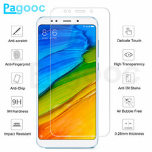 9H Tempered Glass on For Xiaomi Redmi 5 Plus 5A 4 4A 4X 6A 7A 6 Pro S2 Note 4 4X 5 5A Pro Screen Protector HD Protective Film
