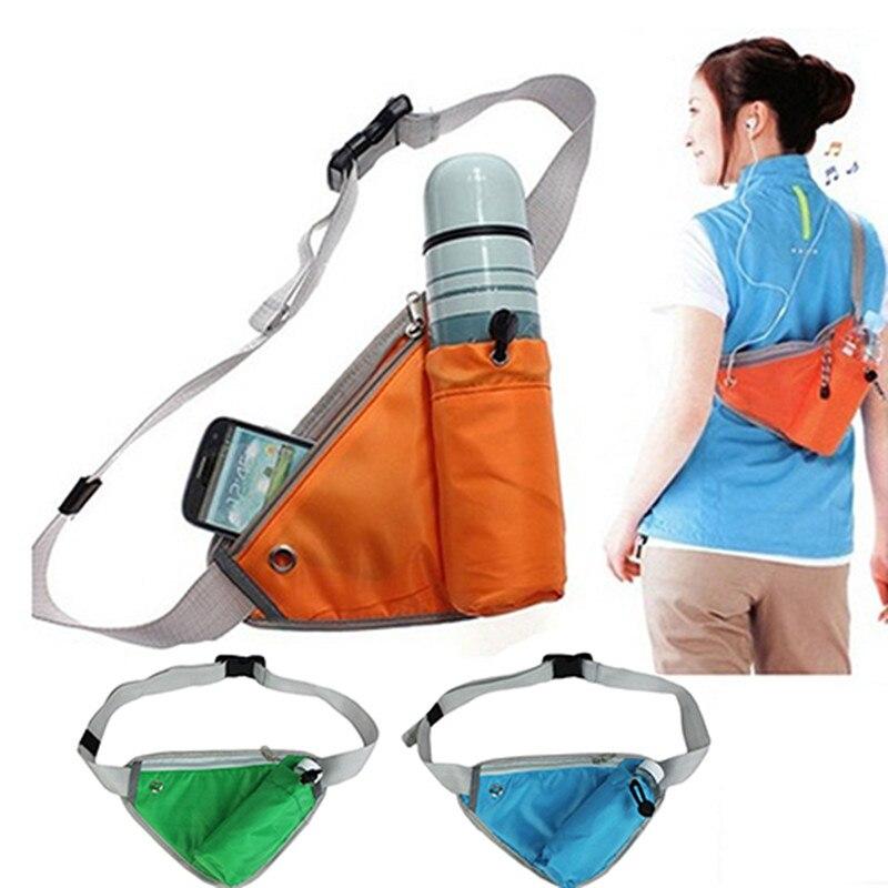 New Fanny Pack Trendy Triangular Waist Bag Durable Belt Bottle Bag Pocket Pouch Sac Banane Cangurera Para La Cintura Waist Pack