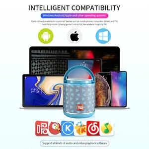 Image 5 - חדש נייד Bluetooth רמקול & טלפון מחזיק מיני סאב בד אלחוטי חיצוני Parlante 6 צבעים תמיכה TF כרטיס USD דיסק