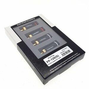 Image 3 - FURUTECH FP 126(G) conector RCA enchufe rodio/FP 126 chapado en oro (R) PCOCC central pin hifi hi end caja Original hecha en Japón