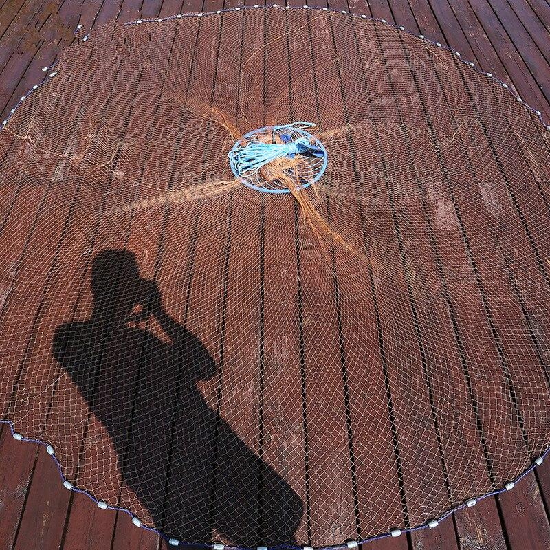 Multi-functional Winter Flywheel Panel Handmade Net Winter Dumped Fishnet Frisbee-Seine Small Mesh Greatly Grid