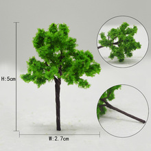 Teraysun 35mm-90mm architectural scale wire tree model ho z gaden park for railroad layout