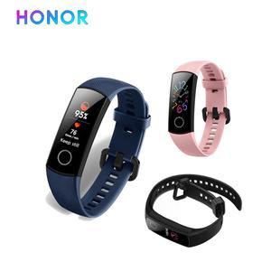 Image 2 - Huawei Honor Band 5 5i 4 4e inteligentny zespół inteligentny zegarek z tlenem krwi AMOLED heart rage fItness sleep tracker wiele języków