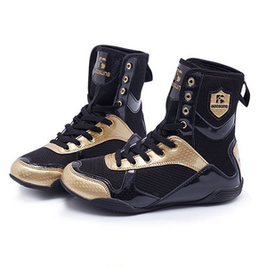 Zapatos de lucha de boxeo para hombres, mujeres y niños, zapatillas deportivas de entrenamiento, botas de combate profesionales de talla grande 36-47, 2020