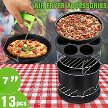 Pizza-Plate Grill-Pot Air-Fryer-Accessories Cooking-Tool Baking-Basket Kitchen 7inch