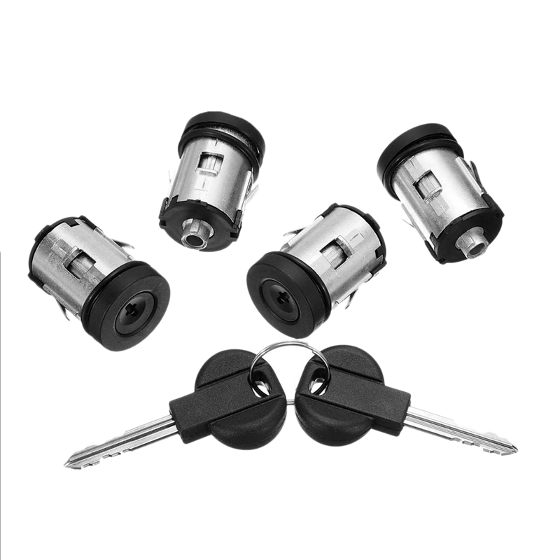 Car Barrel Door Locks Keys Set 9170.AY 4162.C9 for Fiat Scudo for Citroen Dispatch Synergie Xantia Xm Expert for Peugeot 806