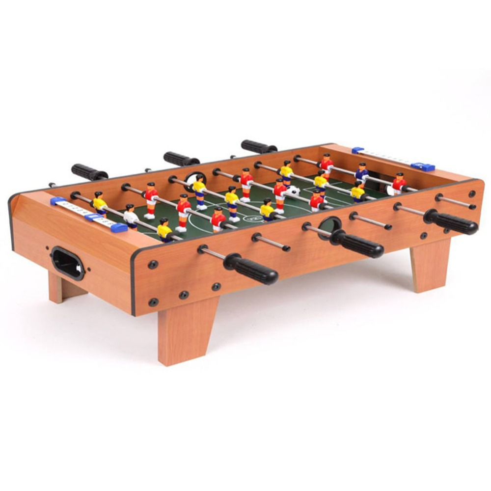 Mini Wooden Kids Children's Table Football Machine Foosball Table Soccer Toys Outdoor Camping Hiking Tools Entertainment