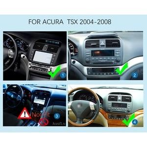 Image 2 - Dahili carplay Android 10.0 octa çekirdekli radyo TSX octa çekirdek 1024*600 araba GPS navigasyon WIFI