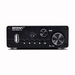 Image 2 - Bluetooth 5.0 HIFI TPA3116 50W + 50W + 100W 2.1 ערוץ סטריאו אודיו סאב Amplfiier בס Amp לוח TF USB FM רכב קולנוע ביתי