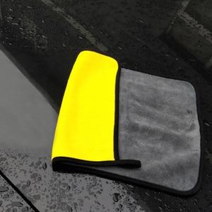 Image 5 - Lot de serviettes microfibres extra douces pour nettoyage de voiture, 3/5 ou 10 pièces, tissu de séchage pour maintenance esthétique, ne raye jamais