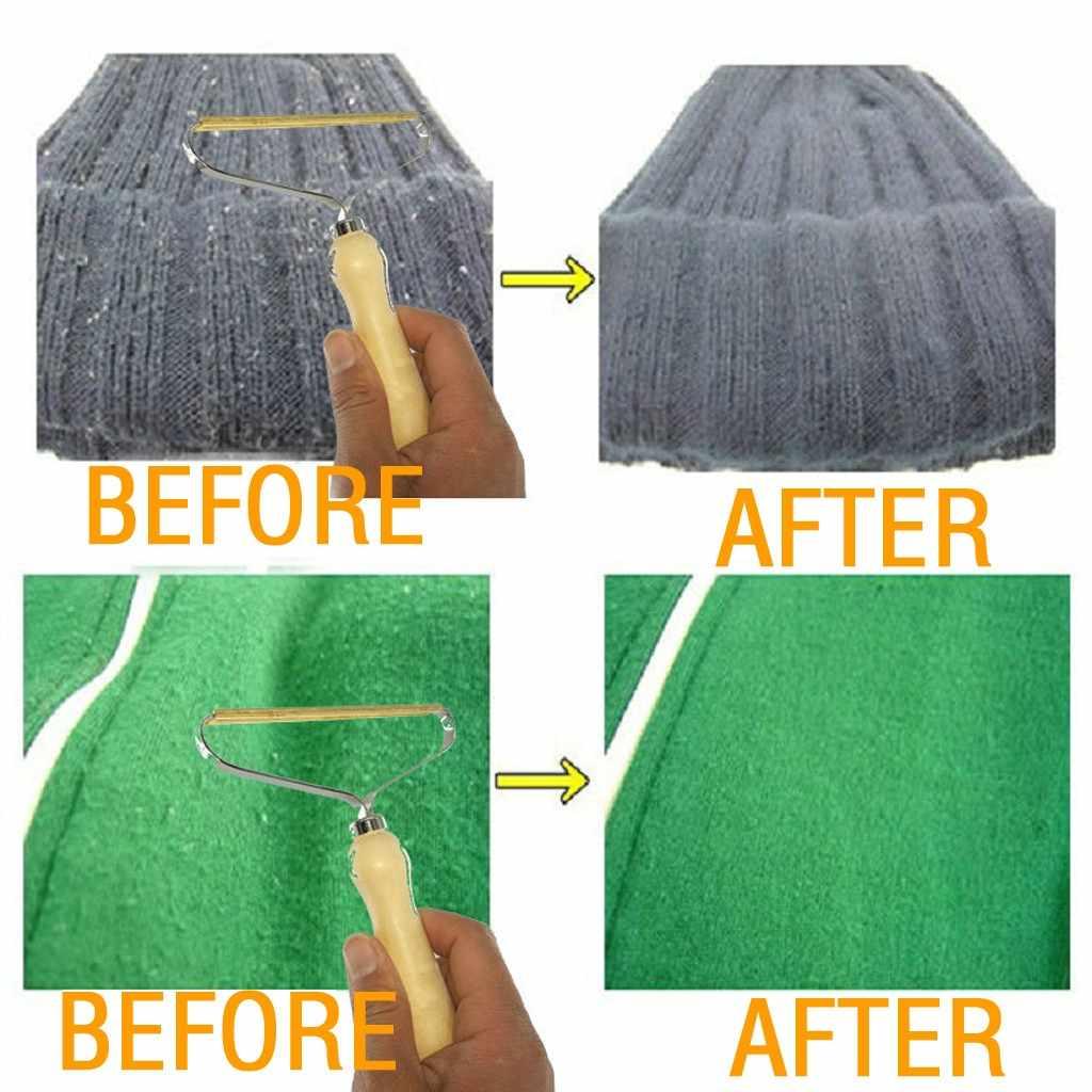 1 Pcs Portable Lint Remover Pakaian Bulu Kain Alat Cukur Alat Sikat Bulu Menghilangkan Roller untuk Sweater Woven Coat Hot Sale # N
