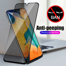 9H Glare Peeping Anti Spy Protective Glass For Samsung A10 A10S A30 A20 A40 A50 A60 A70 A80 A90 A7 A9 2018 Glass Anti Peep Film