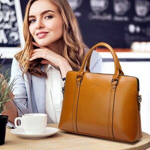 Image 5 - ファッション女性 15.6 15 14 13.3 13 インチハンドバッグ高級品質 pu レザー防水ノートブックショルダーバッグ 2019