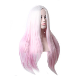 Image 3 - WooFestival Female Heat Resistant Ombre Synthetic Wig Long Straight Hair Cosplay Wigs for Women