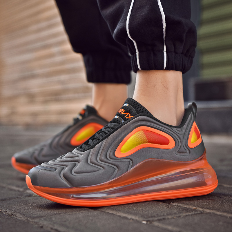 Fashion Air Cushion Men Running Shoes Sneakers Men Sport Shoes Outdoor Zapatillas Hombre Deportiva Men Lace-Up Jogging Sneakers