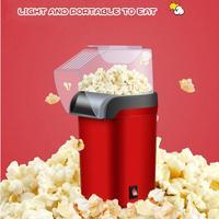 Electric Corn Popcorn Maker Household Automatic Mini Hot Air Popcorn Making Machine DIY Corn Popper Children Gift 220V|Popcorn Makers|   -