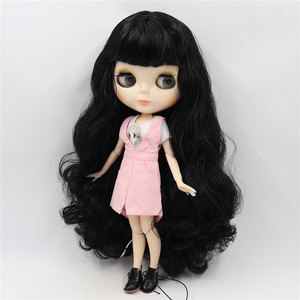 Image 2 - ICY DBS blythe Doll toy joint body bjd white skin shiny face 1/6 toy 30cm in vendita offerta speciale