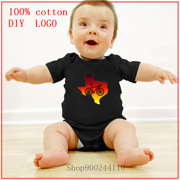 2020 Newborn Baby Clothes Short Sleeve Girl Boy Clothing Bodysuits baby Sunrise Ride new born baby boy clothes 3 to 6 months image