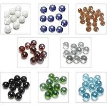 Мраморы 10 шт. шарики 16 мм стеклянные шарики с трусами украшение из стеклянных шариков