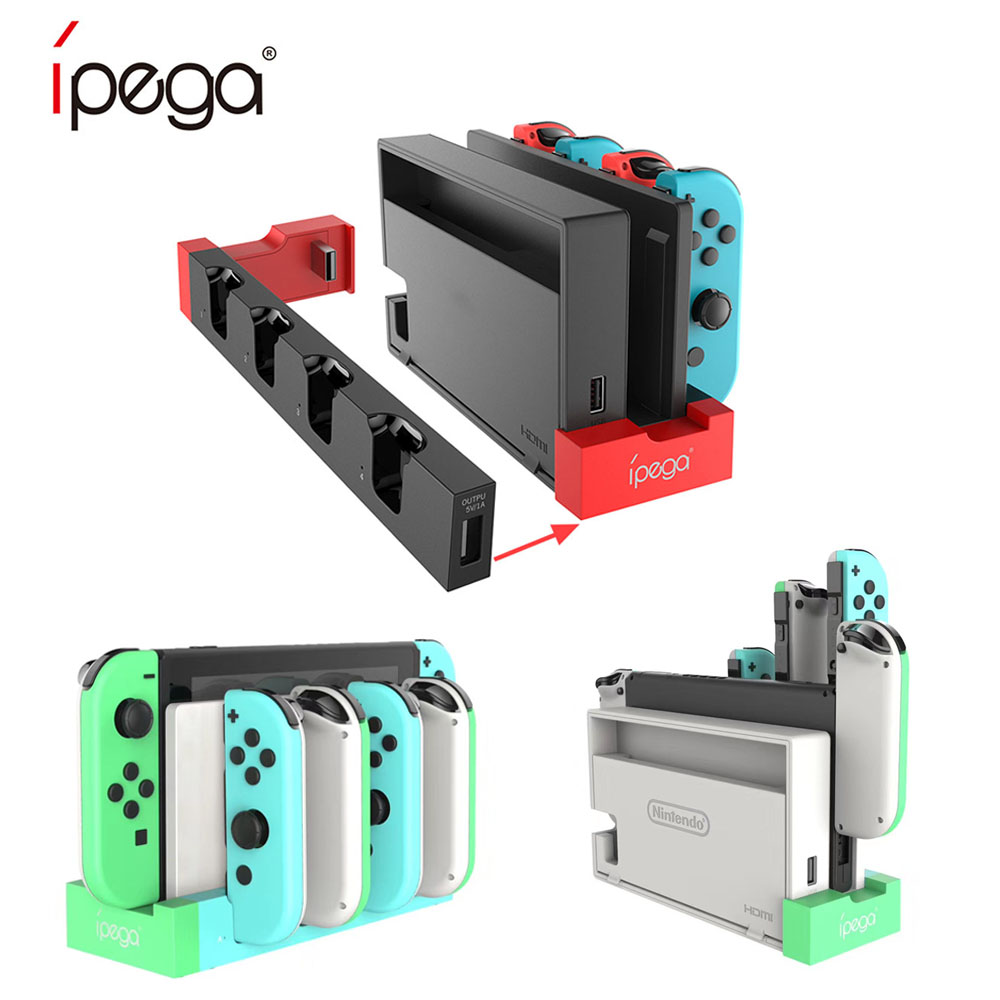 For Switch Joy Con Controller Charger Dock Stand Station  Charging Dock Animal Crossing Charger Dock For Nintend Switch joy Con