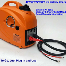 Small Inverter Generator Battery-Charger Autostart/Stop Gas 48V DC for E-Bkie/tricycle