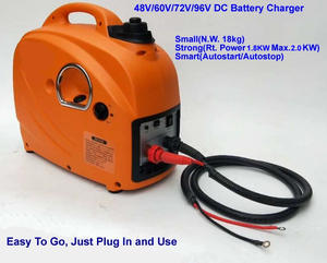 Small Inverter Generator Battery-Charger Gas 48V DC for E-Bkie/tricycle WSE2000I Max.2kw