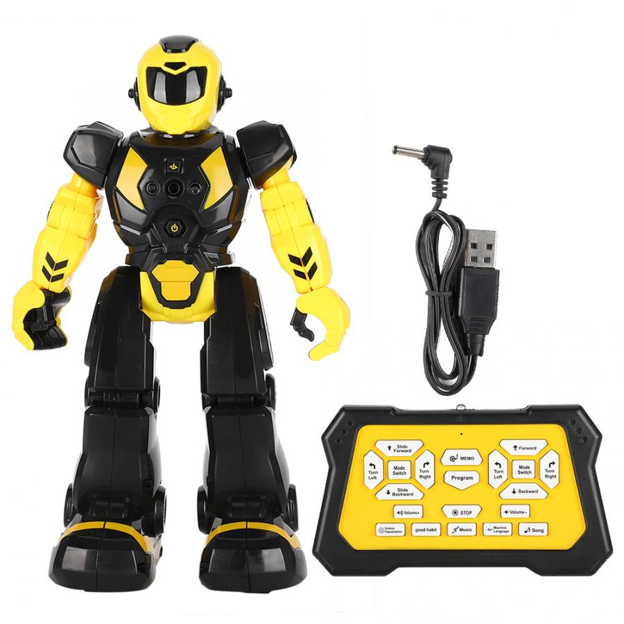 AI robot toy intelligence robot smart Remote Control Robot music USB Recharge Early Learning Intelligence kids rc robot toy