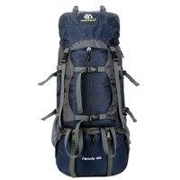 60L Waterproof Climbing Hiking Outdoor Backpack Women Men Bag Camping Mountaineering Knapsack Rucksack Travel Sport Bags