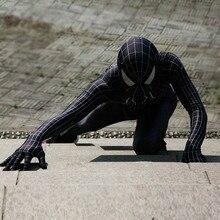 Взрослый Детский комбинезон Веном Человек-паук Питер Паркер Косплей Костюм-комбинезон зентай Хэллоуин обтягивающий костюм