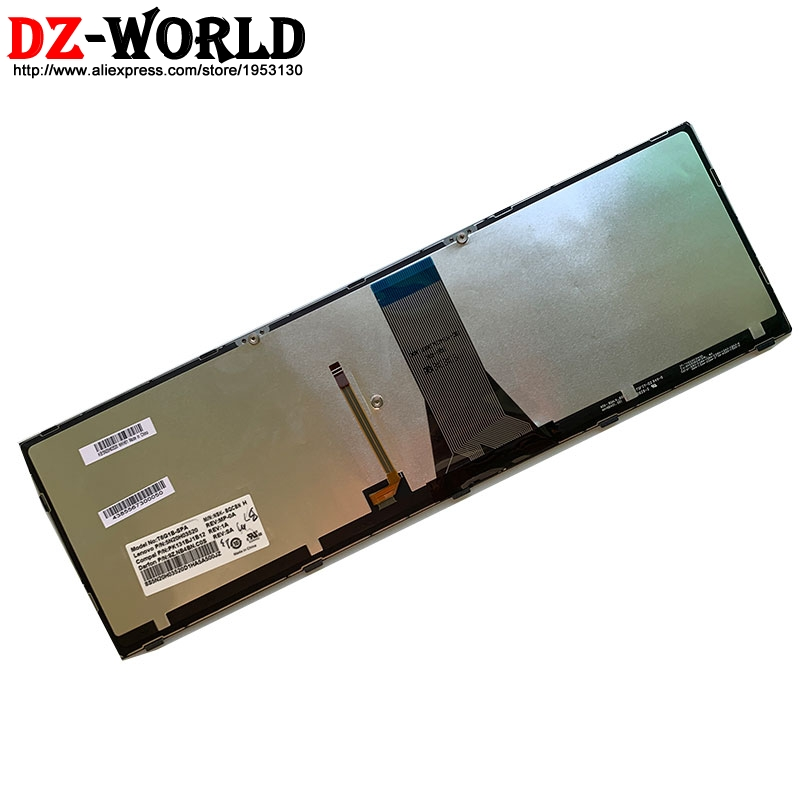 Image 4 - New Original Spain Laptop Backlit  keyboard for Lenovo Z51 70 Ideapad 500 15ISK series 5N20H03520 5N20H03456Replacement Keyboards   -