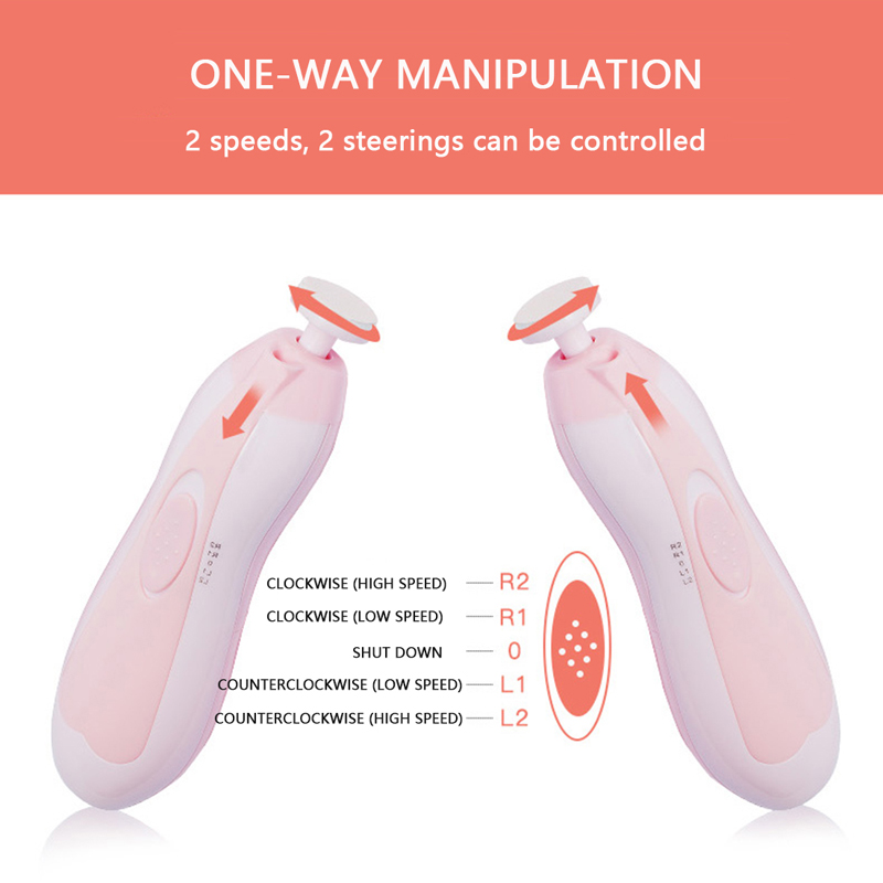 Electric Baby Nail Trimmer & Manicure 3