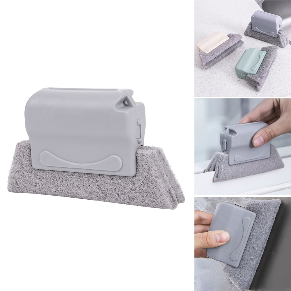 Window Groove Cleaning Cloth Window Cleaning Brush Brush Windows Slot Cleaner Brush Clean Window Slot Cleaner
