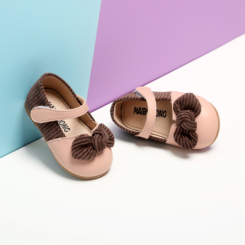 Baby Girls Cotton Bowknot Flowers Sandals 2