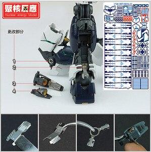 Image 2 - Kernenergie model Metalen Gemodificeerde onderdelen set voor Bandai MG 1/100 RX 93 Nu V Gundam Ver. Ka DJ037