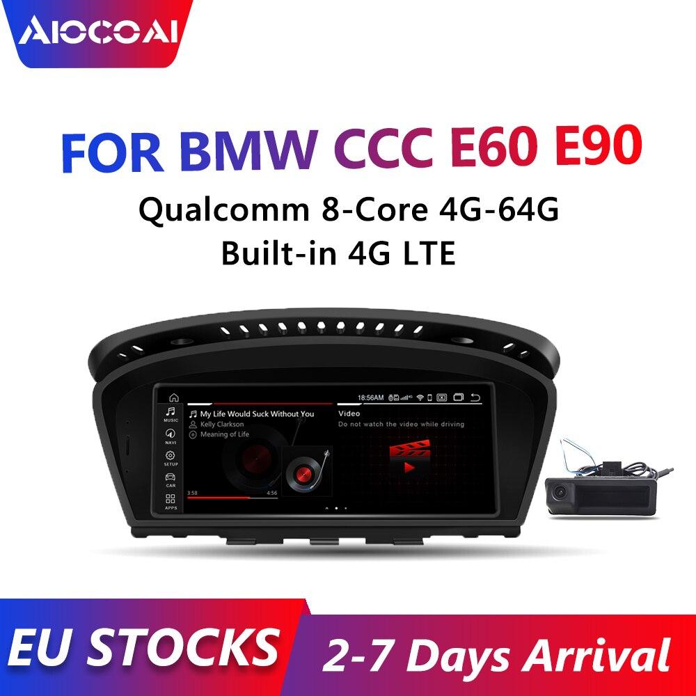 Устройство, док-станция Qualcomm 8-core, 4 Гб + 64G Встроенный 4 аппарат не привязан к оператору сотовой связи андроид 10 Автомобильный мультимедийный ...