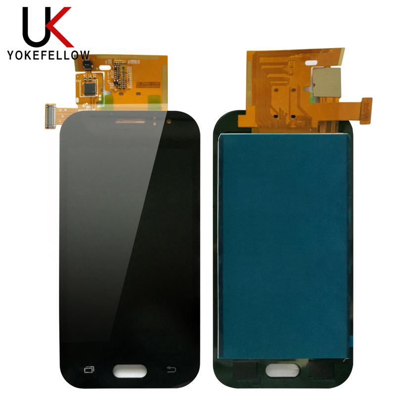 100% Tested Adjust Brightness For <font><b>Samsung</b></font> Galaxy <font><b>J1</b></font> <font><b>Ace</b></font> J110 LCD <font><b>Display</b></font> Touch Screen Digitizer Assembly image