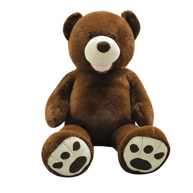 Giant Teddy Bear Plush Toys For Girls Stuffed Doll Soft Big High Quality Unstuffed Empty Bear Skin Valentines Day Gift For Kids Just6F