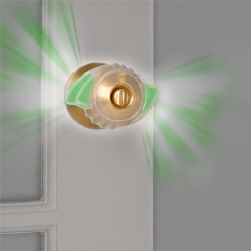 Fluorescent Door Knob Dust Covers Round Wall Protector Door Handle Bumper Guard Stopper Baby Safety Supplies Crash Pad  Safety