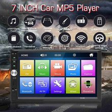 "Audew 7012B 7"" Inch DOUBLE 2DIN Car MP5 Player BT Touch Screen Stereo Radio Multimedia player MP5 Player With Camera(China)"