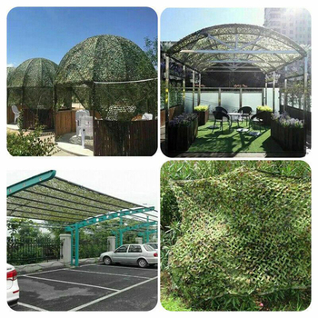 1.5x3m /2x10m Hunting Military Camouflage Nets Woodland Army training Camo netting Car Covers Tent Shade Camping Sun Shelter 5