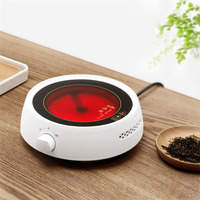 220V Hot Plate Stove Mini Electric Heater Stove Tea Maker For Coffee Milk Soup Heater Multifunctional Cooker 800W no pot